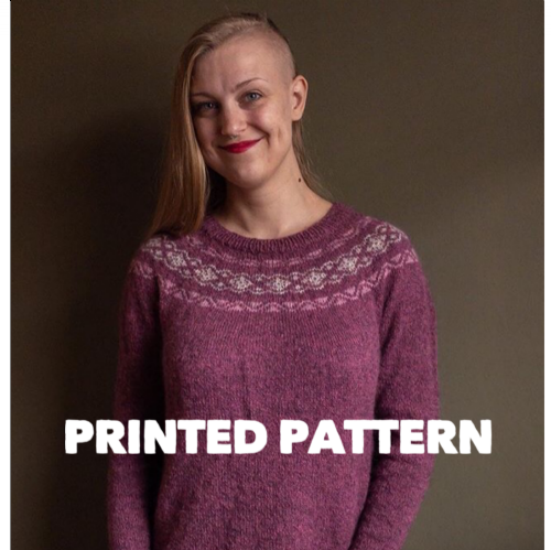Bålgård Sweater - Printed Pattern